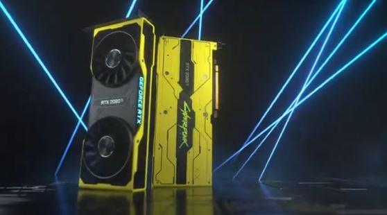 Nvidia crée un GPU Cyberpunk 2077 en édition limitée