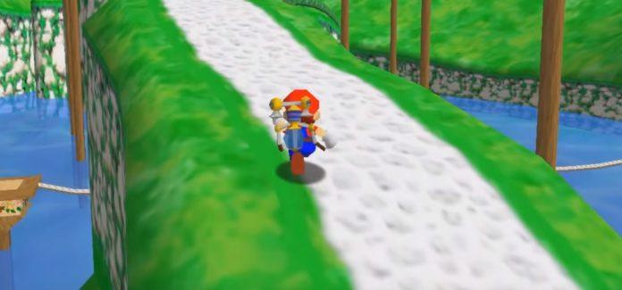 Un modder fou a recréé Super Mario Sunshine à l'intérieur de Mario 64