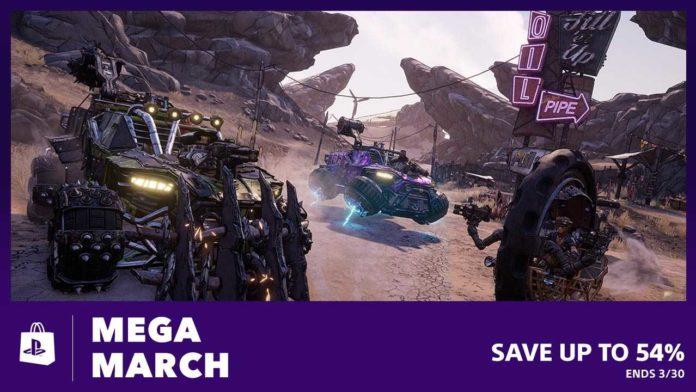 La vente Mega March du PlayStation Store arrive aujourd'hui et propose plus de 100 titres à prix réduits