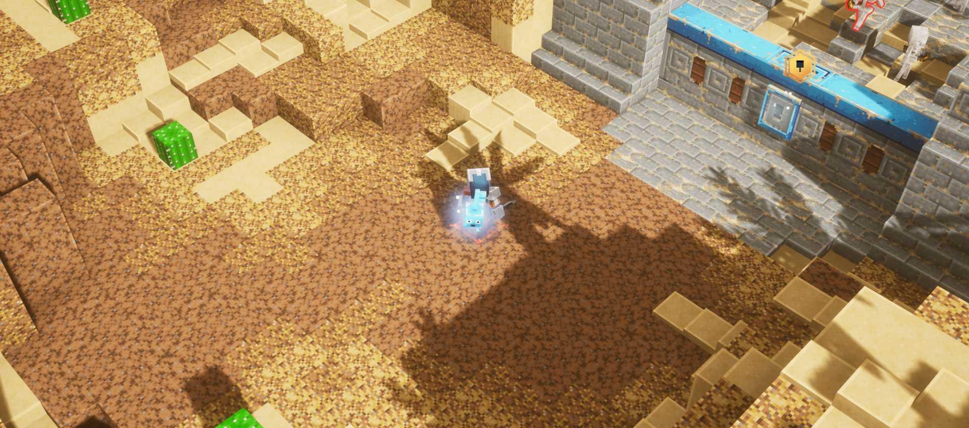 Chronique de Minecraft Dungeons