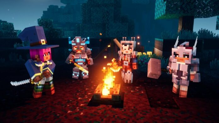 Téléchargement Nintendo: Minecraft Dungeons