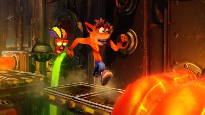 Crash Bandicoot 4 confirmé par une fuite du tableau des notes