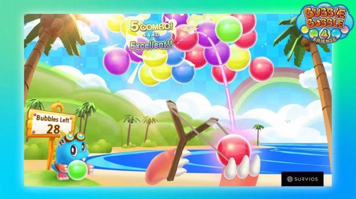 Bubble Bobble 4 Friends lance sur PS4 en novembre, Puzzle Bobble VR en développement