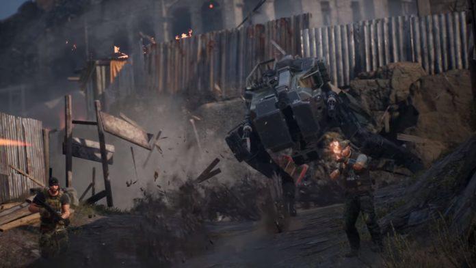 Est-ce ... Est-ce un Metal Gear Solid Walker dans CrossfireX?
