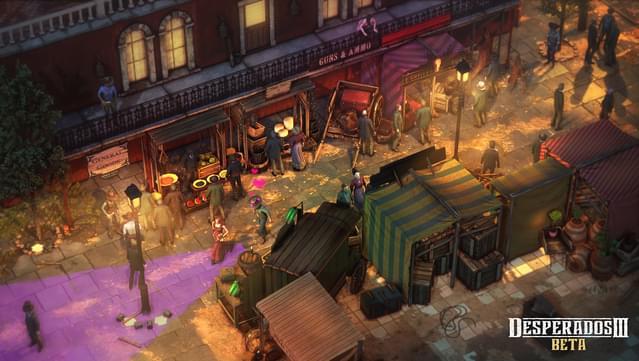 La bande-annonce de lancement de Desperados III présente un mélange de narration et de gameplay