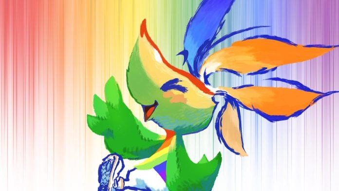Square Enix crée une mascotte de fierté et oh merde, c'est toujours le mois de la fierté