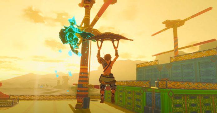 Un modder a recréé tout le donjon Skyward Sword Sandship dans Zelda: Breath of the Wild