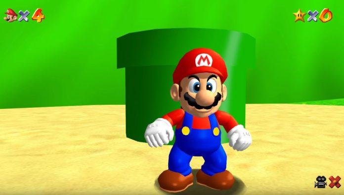 Le nouveau mod rend le port PC de Mario 64 incroyable