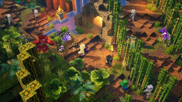 Minecraft Dungeons: Jungle Awakens DLC - Comment débloquer le plateau de Panda   Guide du niveau secret