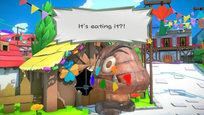 Paper Mario: The Origami King - Atteindre le château de Peach | Procédure pas à pas de Toad Town