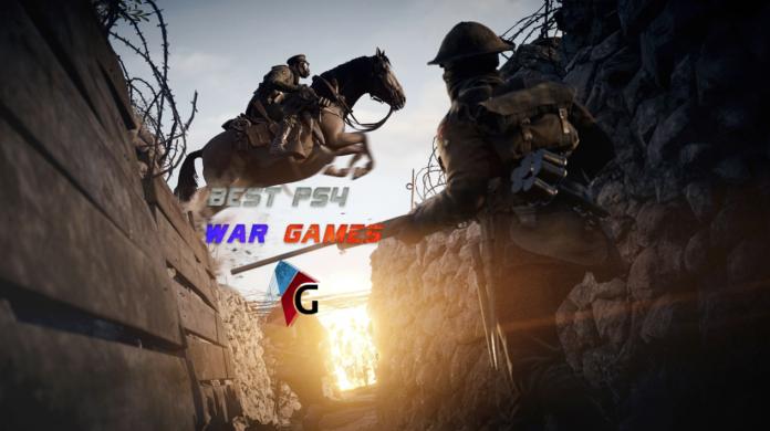 10 incroyables jeux de guerre PlayStation 4