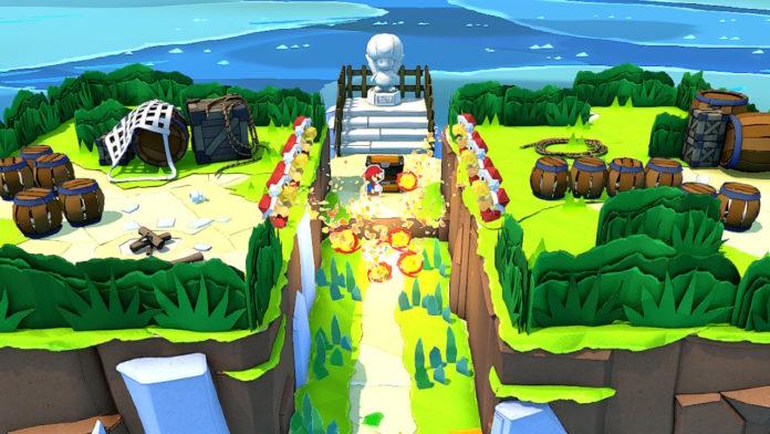 Paper Mario: The Origami King - Tous les emplacements des îles sur la carte de la mer | Guide des secrets de la mer