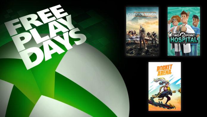 Les dernières offres des journées de jeu gratuites de Microsoft sortent récemment Rocket Arena