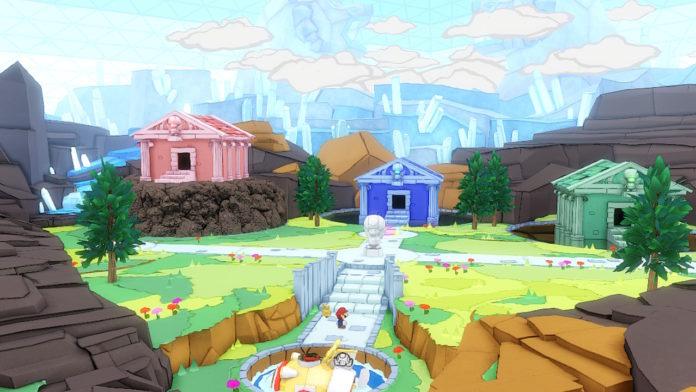Paper Mario: Le roi de l'origami - Les 3 orbes sacrés | Procédure pas à pas de Diamond Island