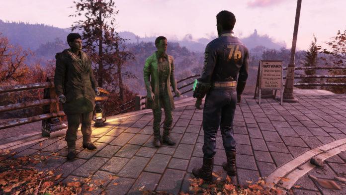 Le support du mod Fallout 76 est toujours en cours