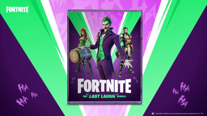 Epic Games annonce «The Last Laugh Bundle», qui apporte le Joker, Poison Ivy et plus de goodies à Fornite
