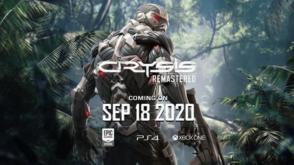 Crysis Remastered lance le 18 septembre sur PS4, Xbox One et PC; Nouvelle bande-annonce technologique publiée