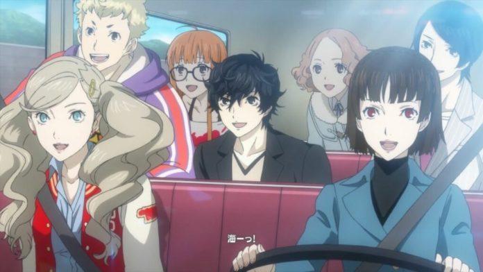 Persona 5 L'animation arrive à Funimation aujourd'hui