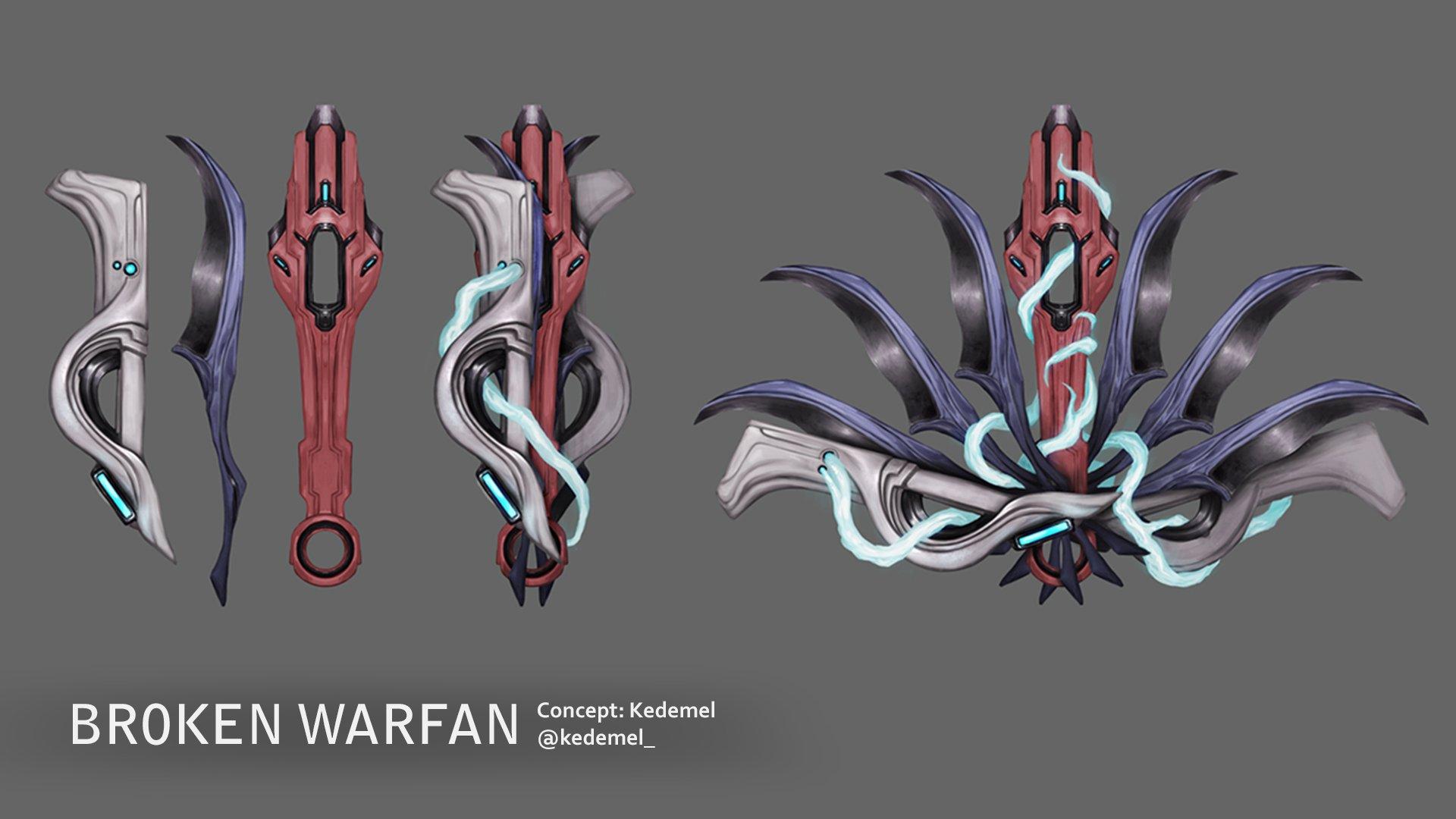 Warframe Warfan brisé