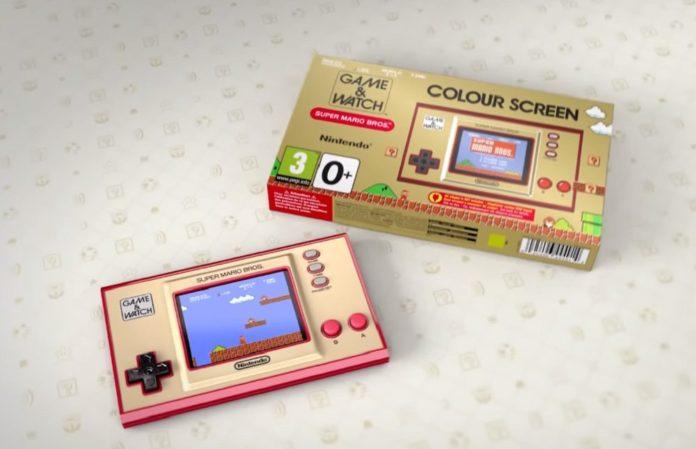 Nintendo nous donne un aperçu plus détaillé de ce nouvel appareil Game & Watch