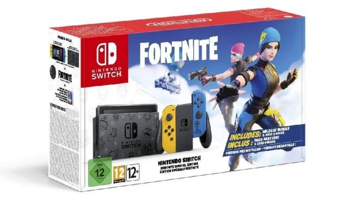 Fortnite Switch en édition limitée arrive en Europe et en Australie