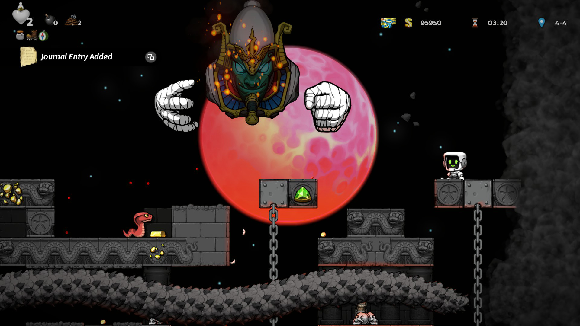 Comment battre Osiris dans Spelunky 2