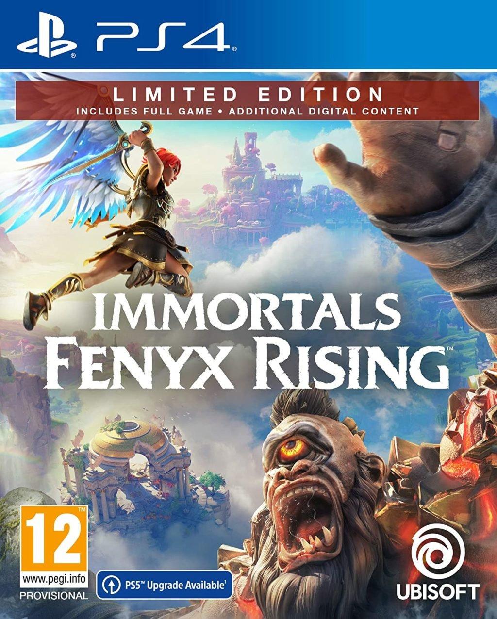 Mise à niveau PS5 disponible sur le coffret Immortals Fenyx Rising