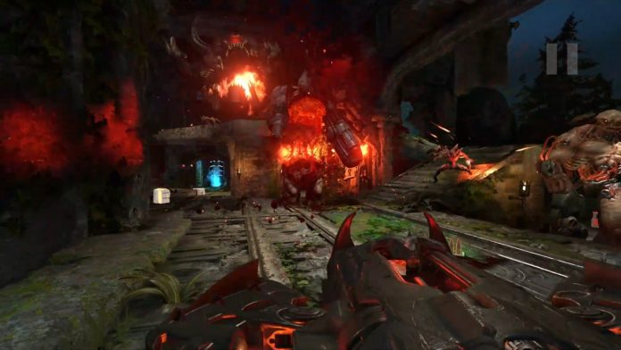 Ce mod du mode Horde de Doom Eternal a l'air d'être à tomber