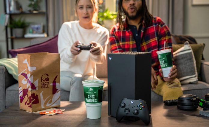 Il est temps de manger à nouveau Taco Bell dans l'espoir de gagner une Xbox Series X