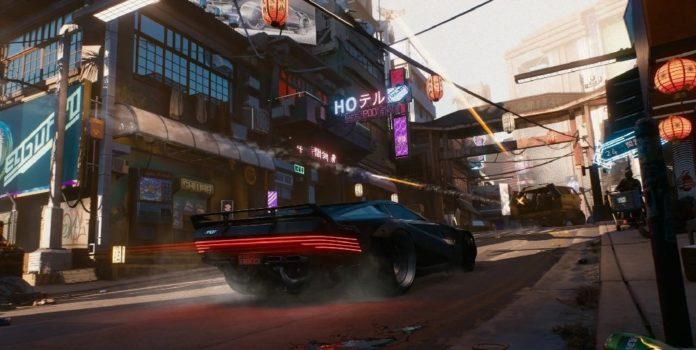 La vidéo technologique Cyberpunk 2077 montre les effets GeForce RTX 30