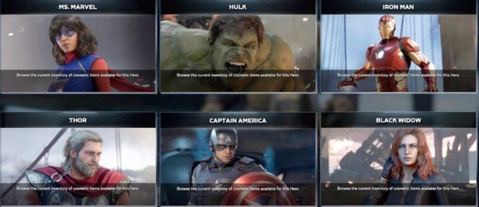 Quel personnage de Marvel's Avengers est votre principal jusqu'à présent?