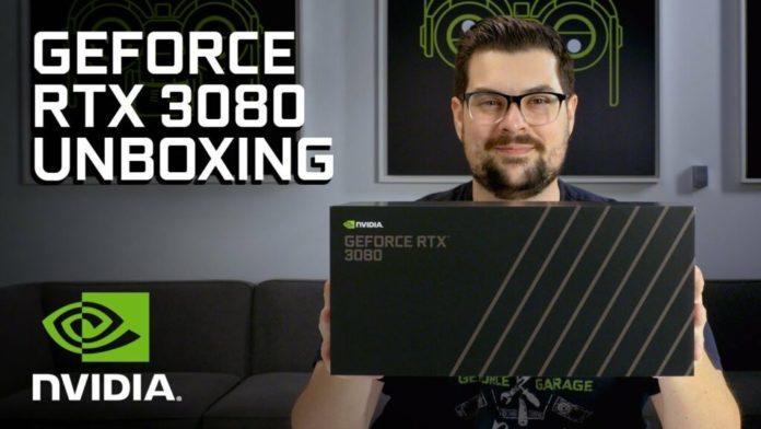 Sortie de la vidéo officielle de déballage de la carte graphique Nvidia GeForce RTX 3080