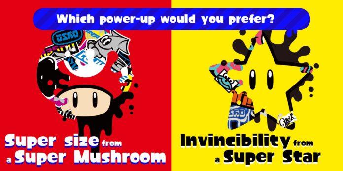 Splatoon 2 obtient un Splatfest sur le thème des power-ups de Mario