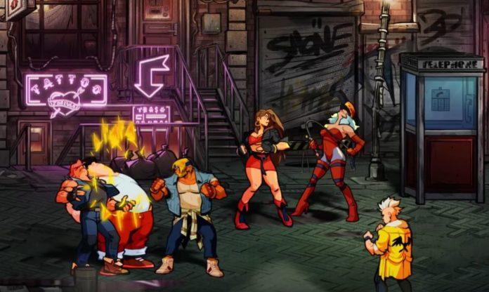 Streets of Rage 4 DLC bientôt disponible
