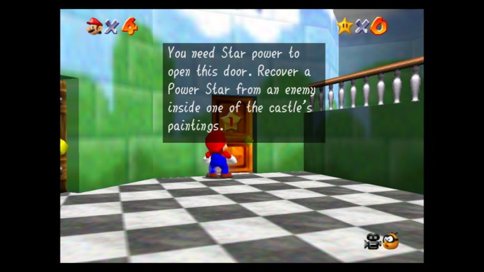 Super-Mario-64-How-to-Get-More-Star-Power-and-Open-Doors-in-Peachs-Castle