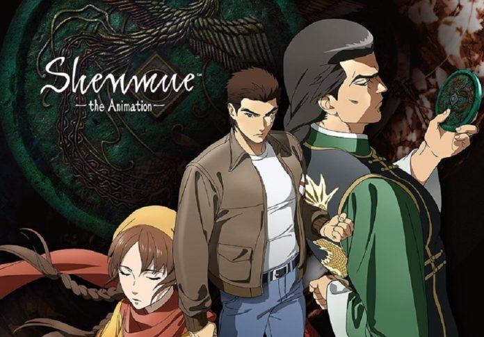 Une adaptation d'anime Shenmue arrive sur Crunchyroll et Adult Swim