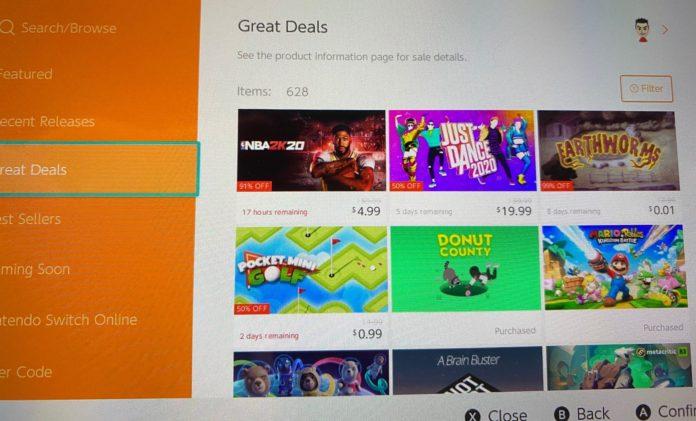 Voir! Le Switch eShop a des minuteries réelles pour les ventes maintenant