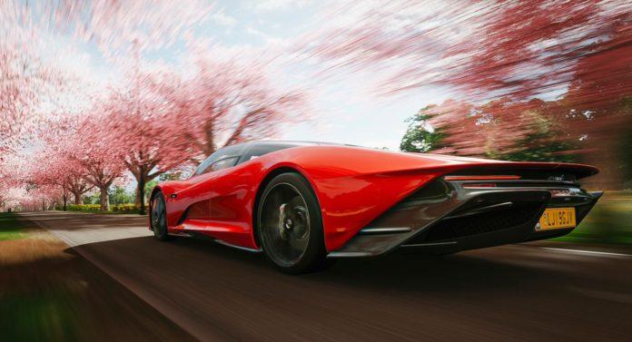 Ce pépin de Forza Horizon 4 vous permettra de démarrer instantanément à environ 400 km / h