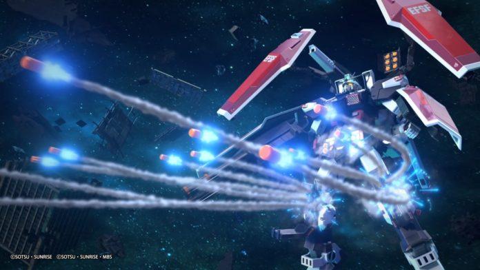Combinaison mobile Gundam Extreme Vs. Maxiboost On ajoute un nouveau mode et un indicateur Wi-Fi