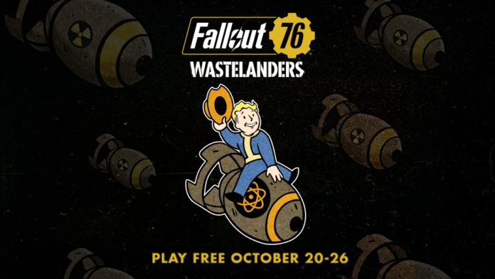 Fallout 76 sera gratuit pendant une semaine