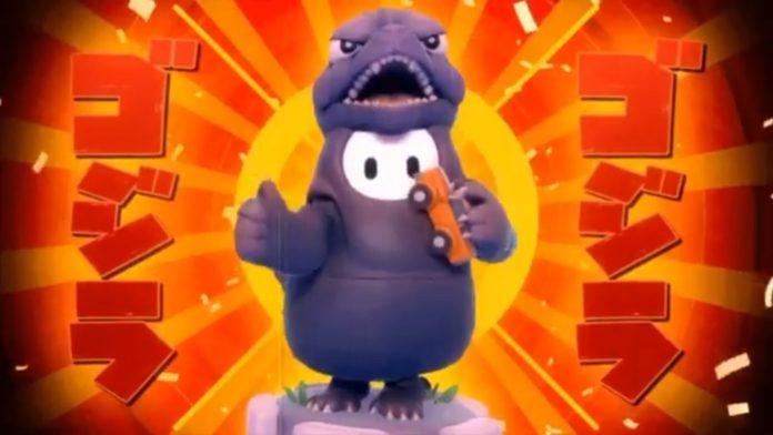 Gardez vos couronnes Fall Guys pendant une autre semaine pour obtenir ce joli costume de Godzilla