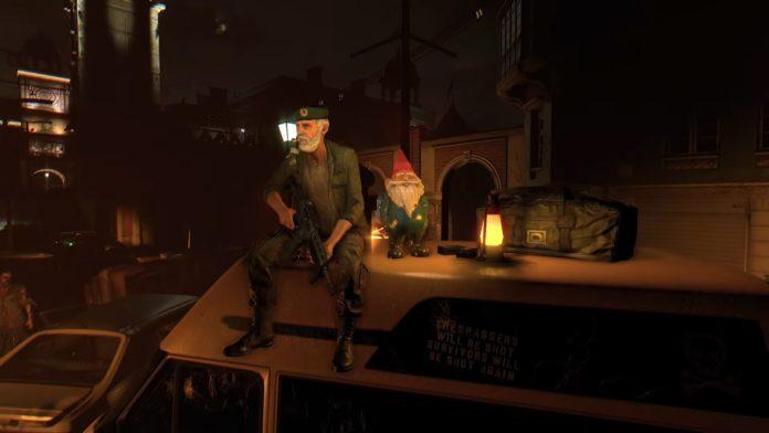 Left 4 Dead's Bill est de retour pour un camée Dying Light et il a emmené Gnome Chompski pour le trajet