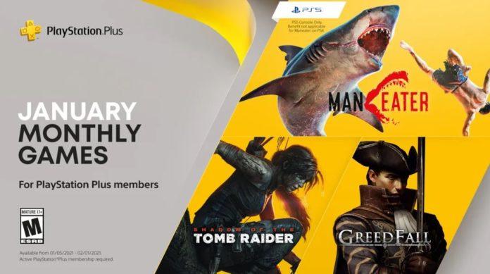 Jeux PlayStation Plus de janvier 2021 révélés