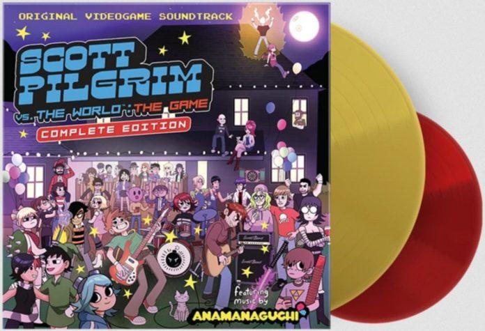 La réédition du vinyle de la bande originale de Scott Pilgrim est disponible à Limited Run Games