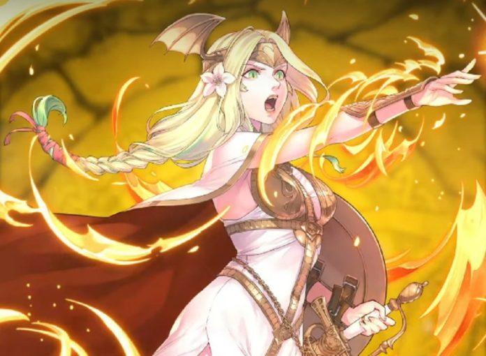 Le vénéré Saint Seiros est le nouveau héros mythique de Fire Emblem Heroes