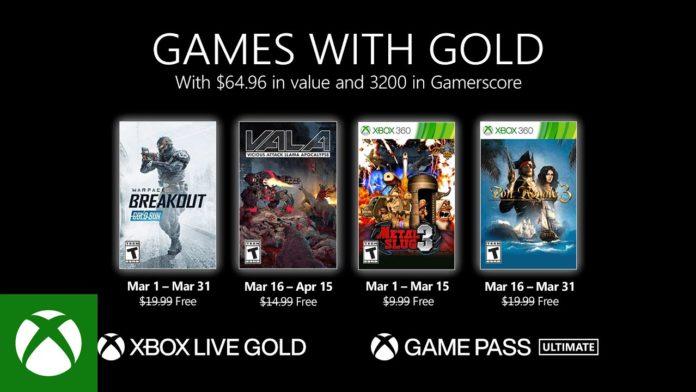 Les joueurs ne sont pas satisfaits des jeux Xbox Live Gold de mars 2021