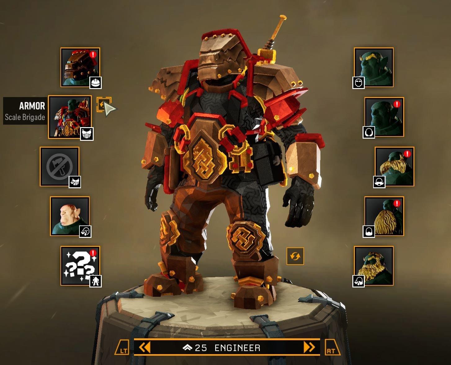 Tout le monde peut déverrouiller l'armure de la brigade d'échelle jusqu'au 14 mars, après quoi elle est limitée aux joueurs de rang 100 et plus.