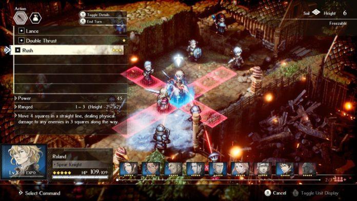 Project Triangle Strategy est un nouveau SRPG HD-2D avec une démo Switch aujourd'hui